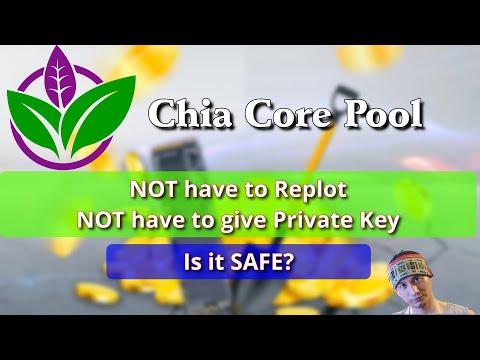 Chia Core Pool: không cần Private Key, ko phải replot? Nhưng có thực sự an toàn? #Chia #ChiaCore