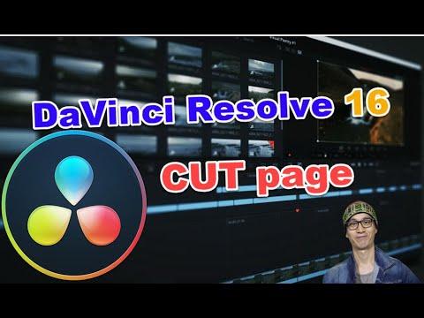 Trang Cut mới trên DaVinci Resolve 16: rất nhiều tính năng hay để cắt ghép video