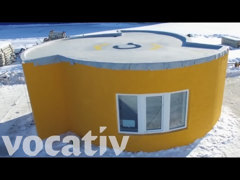 3D Printed House Took 24 Hours To Build