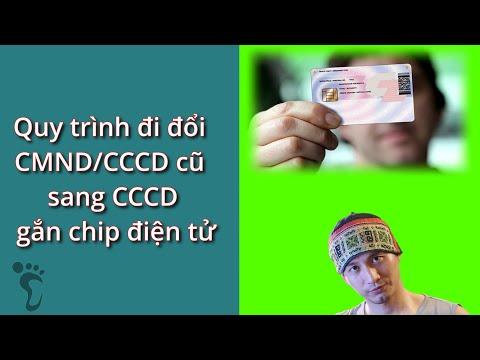 Review quá trình đi đổi CMND cũ sang CCCD gắn chip điện tử #CCCD #CMND