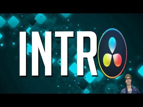 Bài 7: hướng dẫn tạo video Intro miễn phí bằng DaVinci Resolve ✅