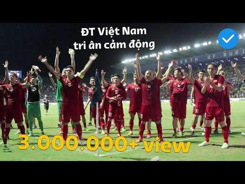 Khoảnh khắc cực kì xúc động của đội tuyển Việt Nam không hề có trên Tivi