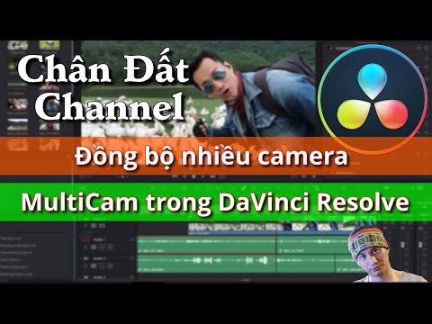 Đồng bộ nhiều camera với tính năng MultiCam trong DaVinci Resolve