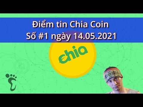 Điểm tin Chia Coin - số #1 ngày 14.05.2021 - giá XCH tăng đến 50% #Chia #ChiaCoin #ChiaBlockChain