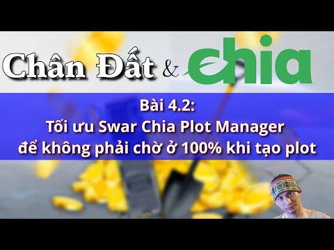 Bài 4.2 Tối ưu Swar Chia Plot Manager để không phải chờ ở 100% khi tạo plot #Chia #Chiacoin