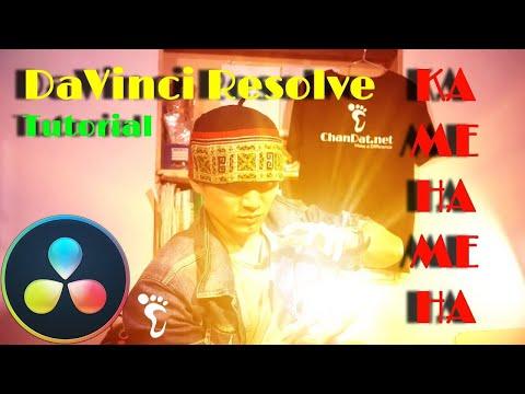 DR Tips ✅1: tạo hiệu ứng Kamehameha (Kamejoko) trên DaVinci Resolve