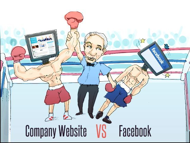 facebook or website for small business