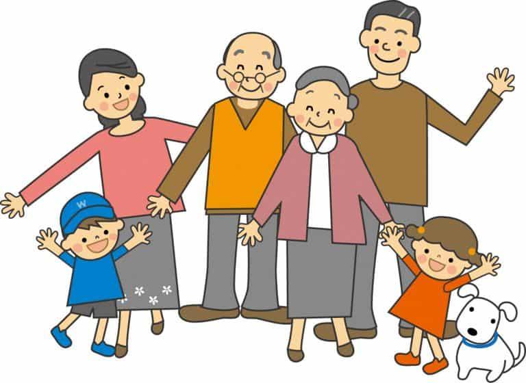 Cách xưng hô trong gia đình Việt Nam
