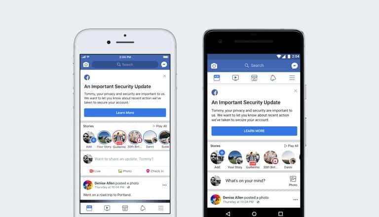 Facebook bi hack logout