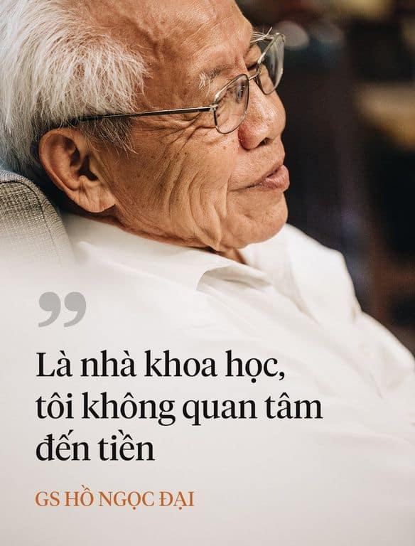 Giáo sư Hồ Ngọc Đại