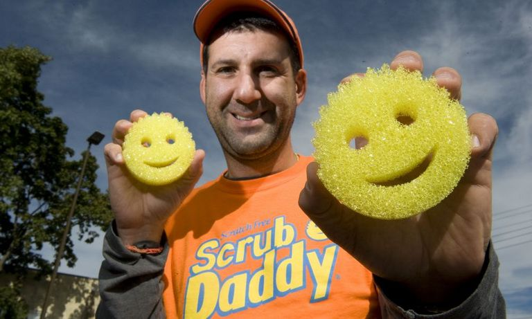 Scrub Daddy Aaron Krause shark tank