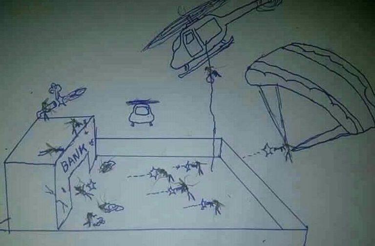 Nhà anh không có gì ngoài ... Muỗi