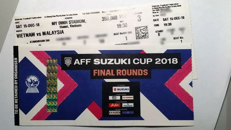 Ve chung ket AFF Cup 2018
