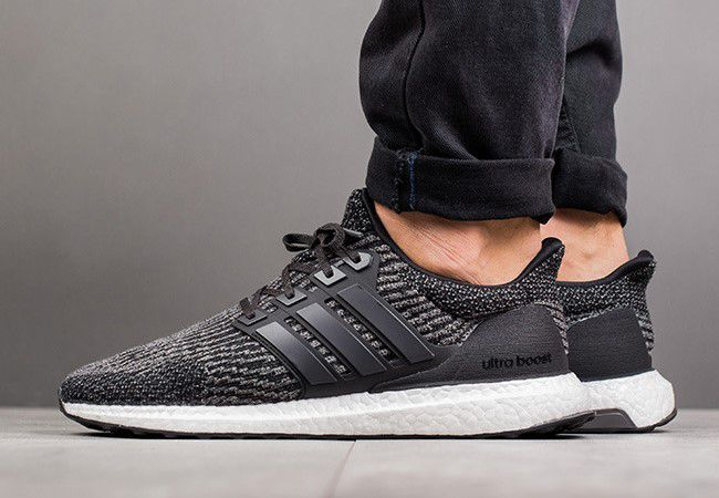 adidas Ultra Boost 3.0 Core Black Utility on-feet