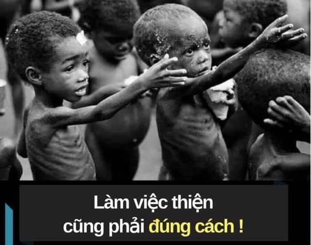 Làm từ thiện cũng phải đúng cách