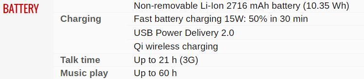 Battery Info Iphone X