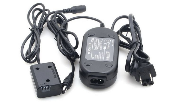 Charger Adapter For Sony A6000 A6300 A6500 Np Fw50 Dummy Battery Full Decoding Dc Coupler External