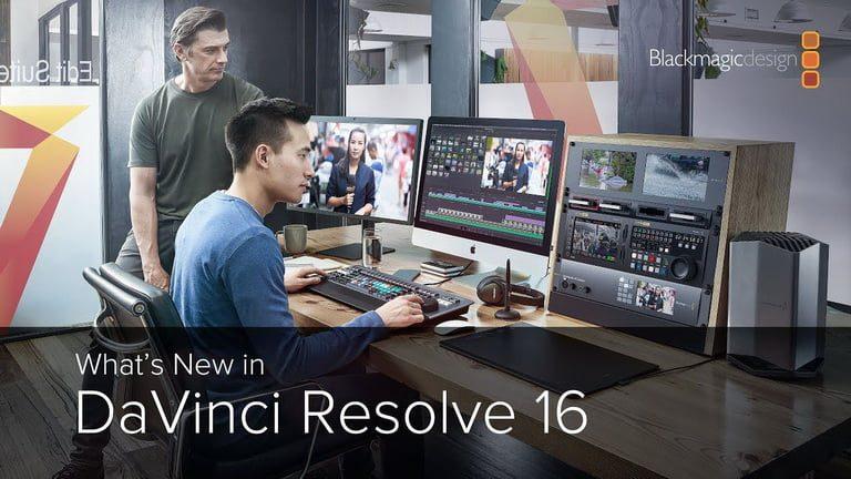 DaVinci Resolve 16 ra mắt với nhiều cải tiến và các tính năng mới