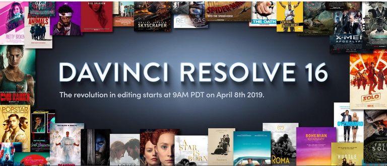 Davinci Resolve 16 Release