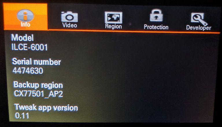 Hack các tính năng ẩn của Sony A6000 với OpenMemories Tweak