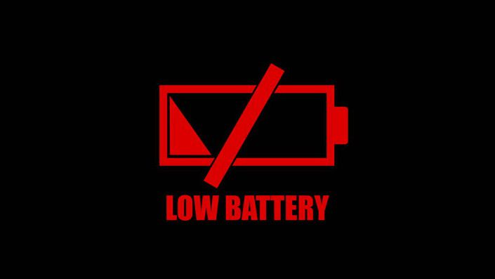 Low Battery Dummy Battery