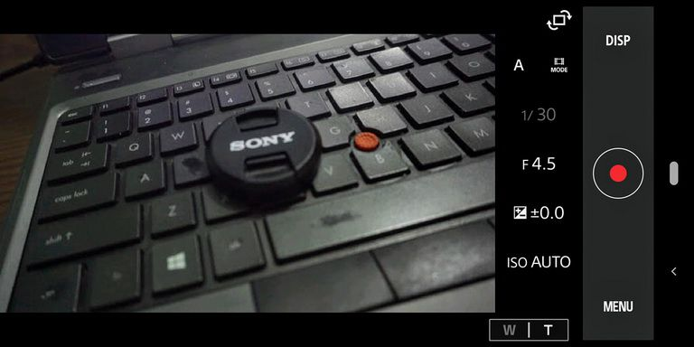 Hướng dẫn bật chế độ remote control video recording cho Sony A6000