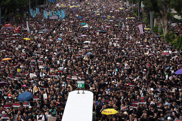 Người dân Hồng Kong biểu tình như thế nào?