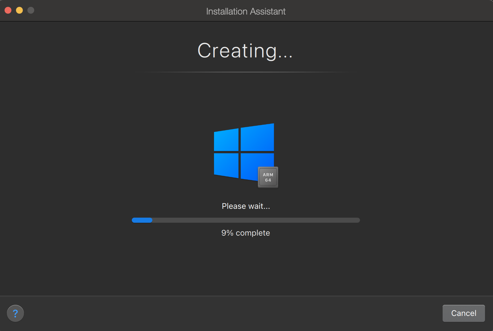 Cài máy ảo Windows 10 trên Macbook M1 bằng Parallels Desktop free