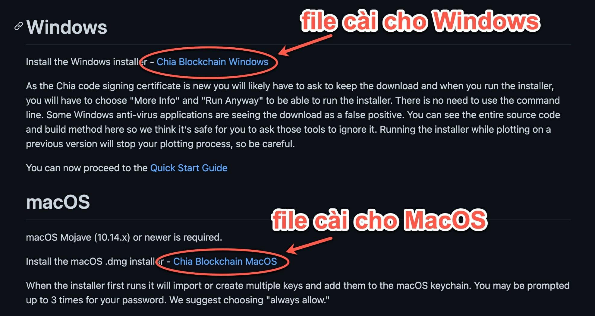 hướng dẫn đào ChiaCoin căn bản