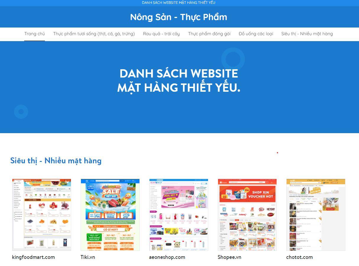 di cho online - website so cong thuong tp.HCM