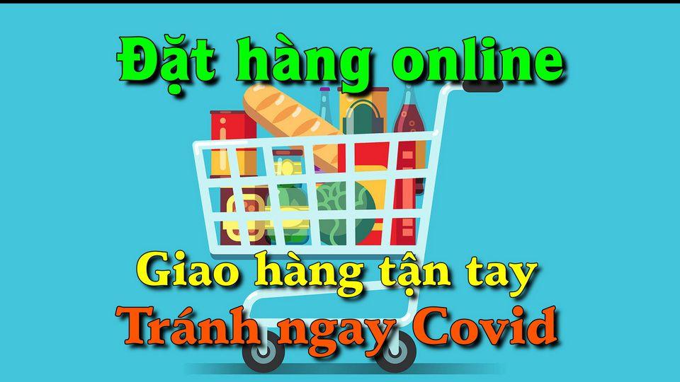 5 cách đặt hàng siêu thị online, giao hàng tận tay