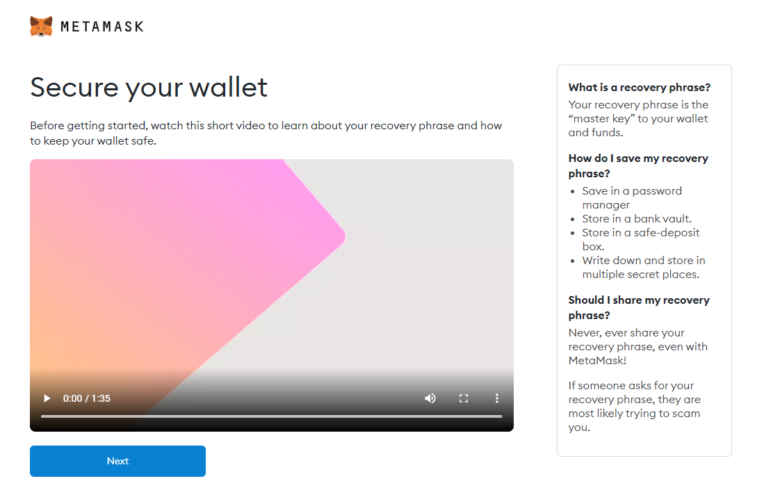 secure your wallet