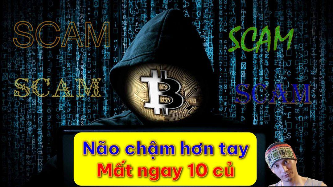 Những trò lừa đảo trong crypto, cách phòng chống